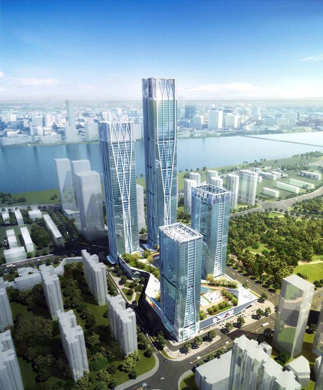 长沙滨江金融财务中心