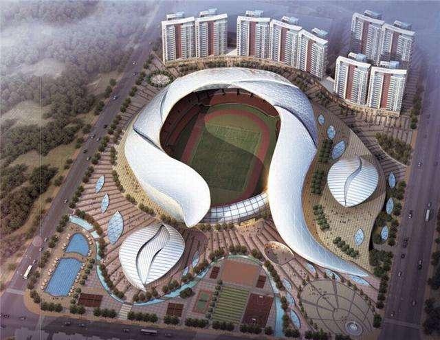 赣州市·龙南县体育中心项目